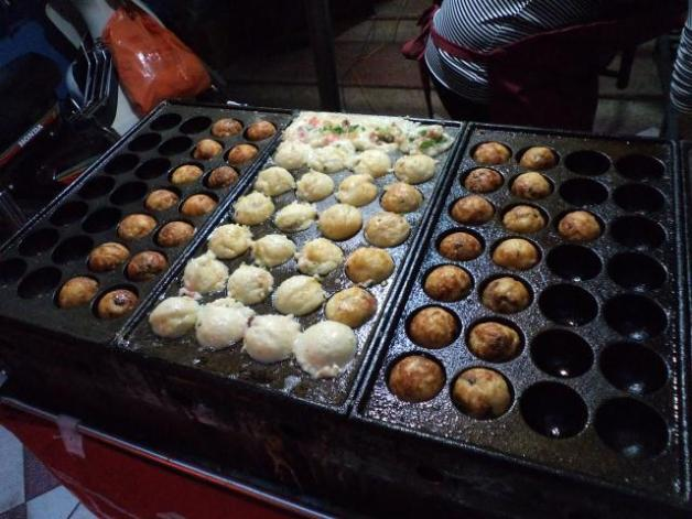 Grilling Up Takoyaki