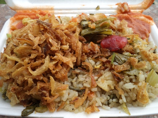 Vietnamese Fried Rice from the Street
