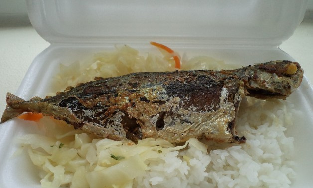 Fried Silver Fish