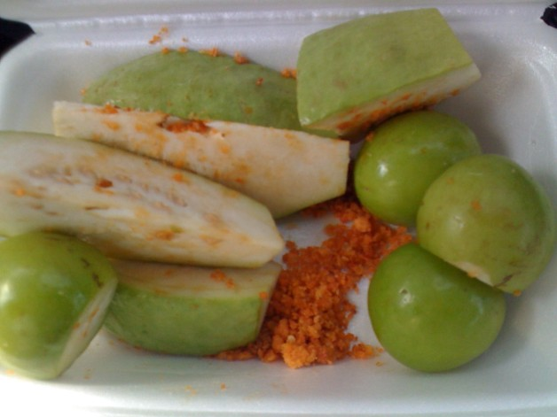 Fruit With Brine Shrimp