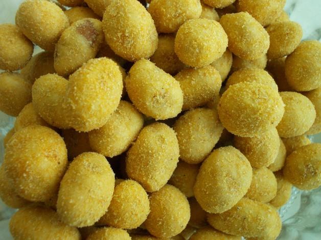 Shrimp Coated Fried Peanut Balls