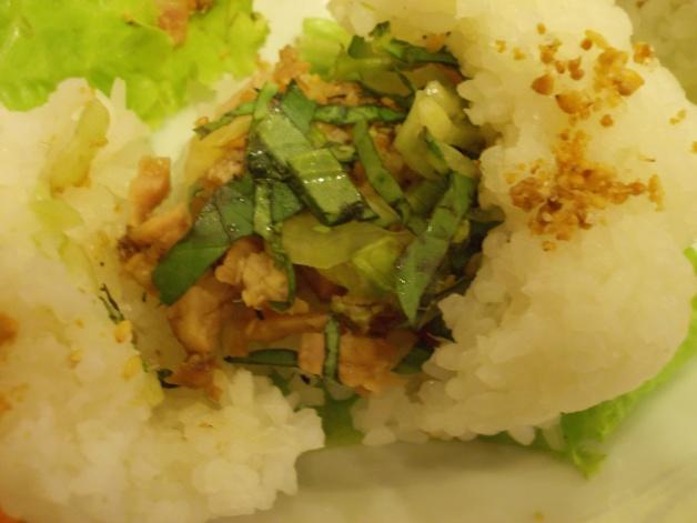 Inside the Rice Burger